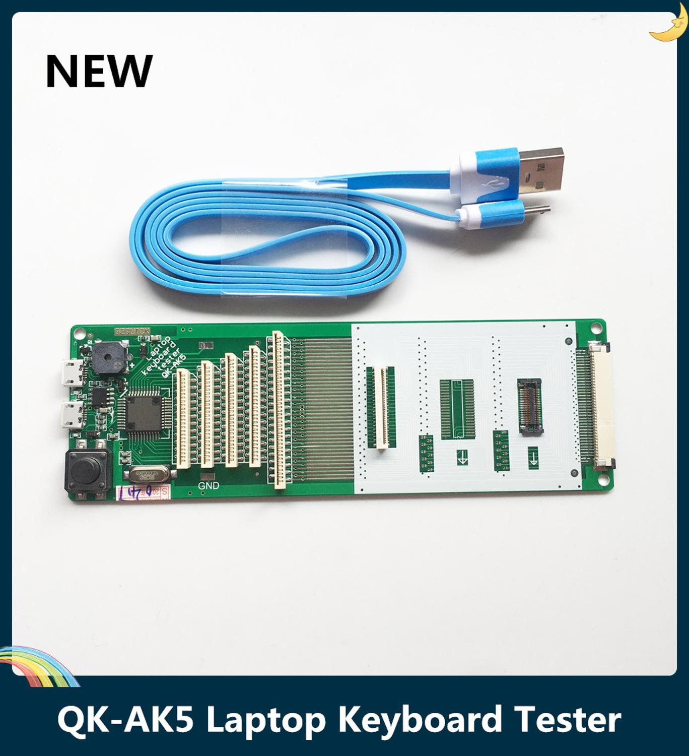 LSC New QK-AK5 Laptop Keyboard Tester Testing Device Machine Tool USB Interface With Cable Free Shipping