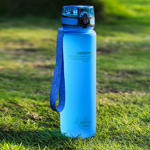 Water Bottles 500/1000ML Shaker Leakproof Outdoor Sport Direct Drinking My Bottle Tritan Plastic Eco-Friendly Drinkware BPA Free 2