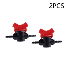 Switch Valves Home Garden Coupling Pipe Irrigation Water Hose Plastic Accessory Set 2/5pcs 4mm Parts