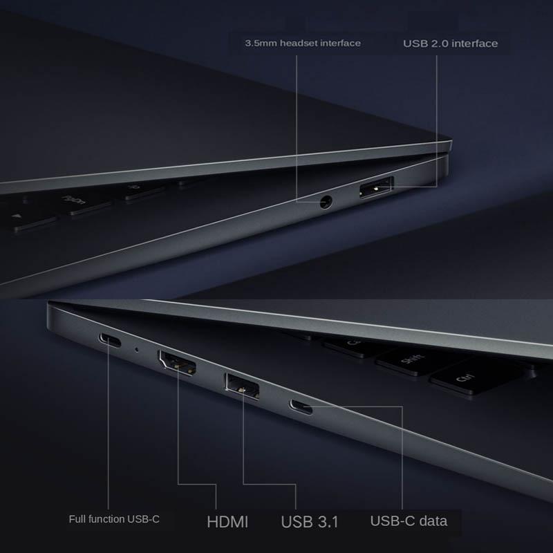 Xiaomi RedmiBook Laptop 16.1inch Intel Core i7-1065G7 NVIDIA MX350 16GB DDR4 512GB SSD Notebook HD Big Screen Laptop Windows 10