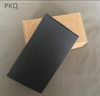 200pcs Kraft Craft Paper Jewelry Pack Box Gift Box black paper box For Handmade Soap Wedding Party Candy Packaging Box