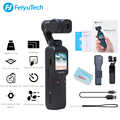 FeiyuTech Pocket Camera Gimbal 3 axis Stabilized Handheld Camera 4K 60fps Video 120° Wide Angle SmartTrackBuilt in Wi Fi control