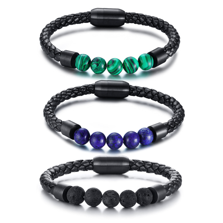FXM HBB1 new arrival Find jewelry for women birthday gift best selling s925 leather bracelet lover bracelet 17cm