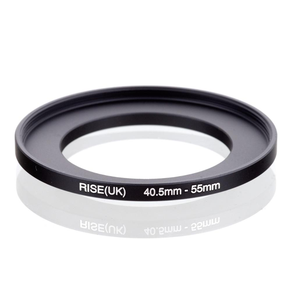RISE(UK) 40.5mm-55mm 40.5-55 Mm 40.5 To 55 Step Up Filter Ring Adapter