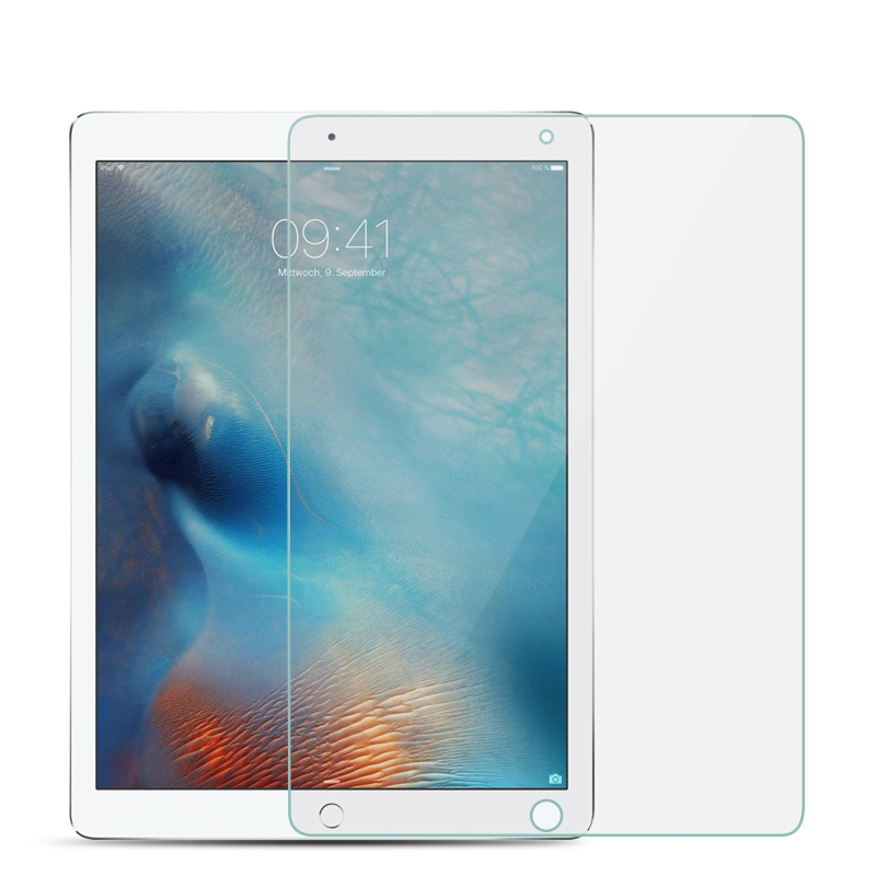 10 PCS Tempered Glass For Apple iPad 2 3 4 5 6 9.7 2017 2018 Pro 11 10.5 For iPad Air 2 Mini 2 3 4 Tablet Screen Protector Flim