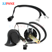 Auto Horn Plug 4 Wires Corrugated Tube Dedicated Snail Horn Socket Conversion Plug Car Speakers Single Horn Refit Double Horn