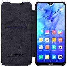 Nillkin Für Xiaomi Redmi Note 8T Nillkin Luxus Business Case Vintage Weichen PU Leder Flip Telefon Abdeckung Für Xiaomi redmi Note 8T