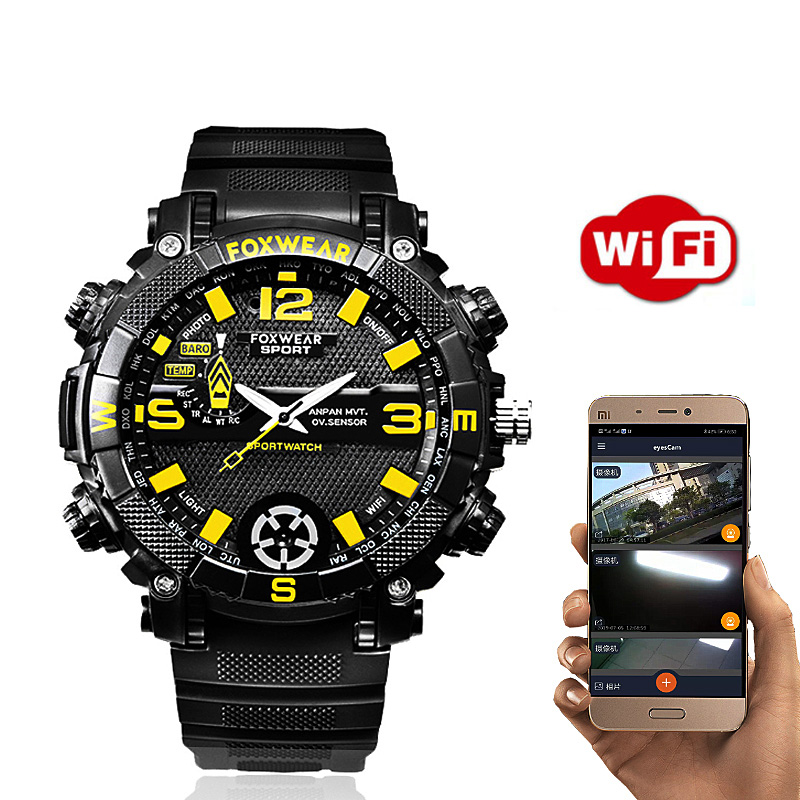 Wifi Drahtlose Fernbedienung Monitor Video Voice Recorder Foto HD <font><b>Cam</b></font> Armband Smart Uhr Smartwatch Band Armband image