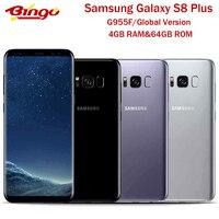 Samsung Galaxy S8 + S8 Plus Original versión Global G955F 4G teléfono Android Exynos Octa Core 6,2