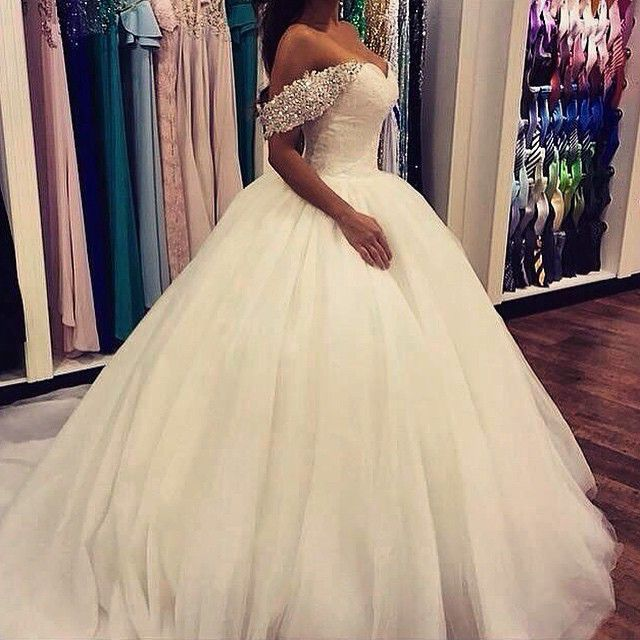 Romantic Arabic Sweetheart Beaded Lace Ball Gowns 2018 With Sleeveless Crystal Tulle Bridal Gown Mother Of The Bride Dresses
