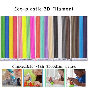 Questo filamento 3D è compatibile con la partenza 3Doodler Realizzato in plastica ecologica non tossica a bassa temperatura