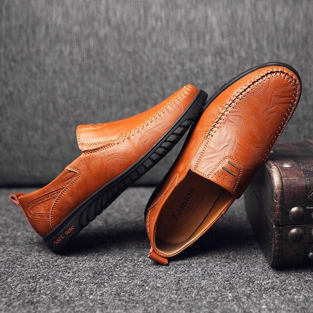 Туфли мужские кожаные итальянский стиль 3