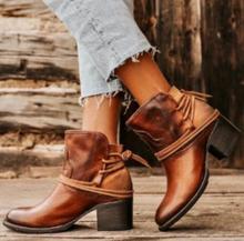 2019 Hot Sale  Winter Boots Women Ladies Fashion Woman Leather Shoes Large Size 34-43 WXZ023