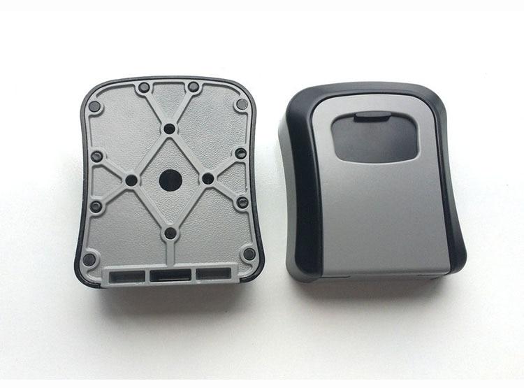 Key Safe Box Outdoor Digit Wall Mount Combination Password Lock Aluminum Alloy Material Keys Storage Box Security Safes OS5402 (7)
