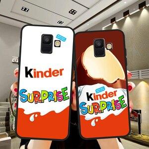 Candy Chocolate Kinder Joy surprise egg Case for Samsung Galaxy A3 A5 A6 A7 A8 A9 A10 A30 A40 A50 A70 A80 J4 J5 J6 J7 J8 Plus(China)