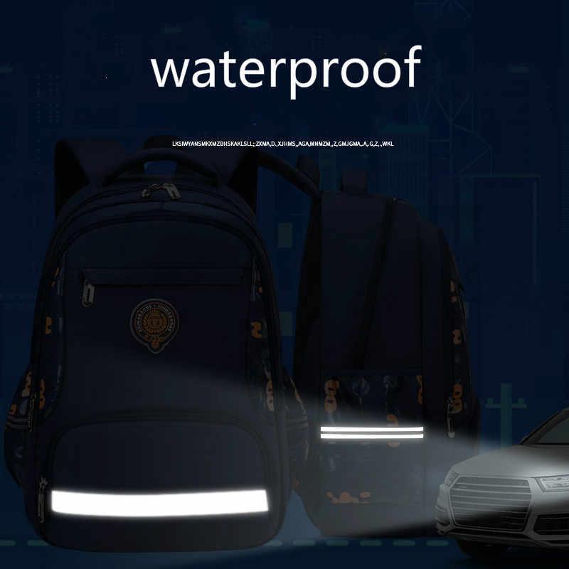 Dzieci torby szkolne dla dziewczynek chłopcy dzieci plecak szkolny wodoodporny tornister plecaki do szkoły podstawowej dzieci Mochila Escolar