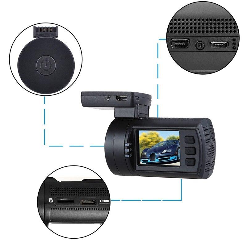 Mini Dvr Auto Dash Camera Speed Coördineren Gps 1080P 60FPS Hd Video Recorder Super Condensator Met Afstandsbediening Temperaturen - 5
