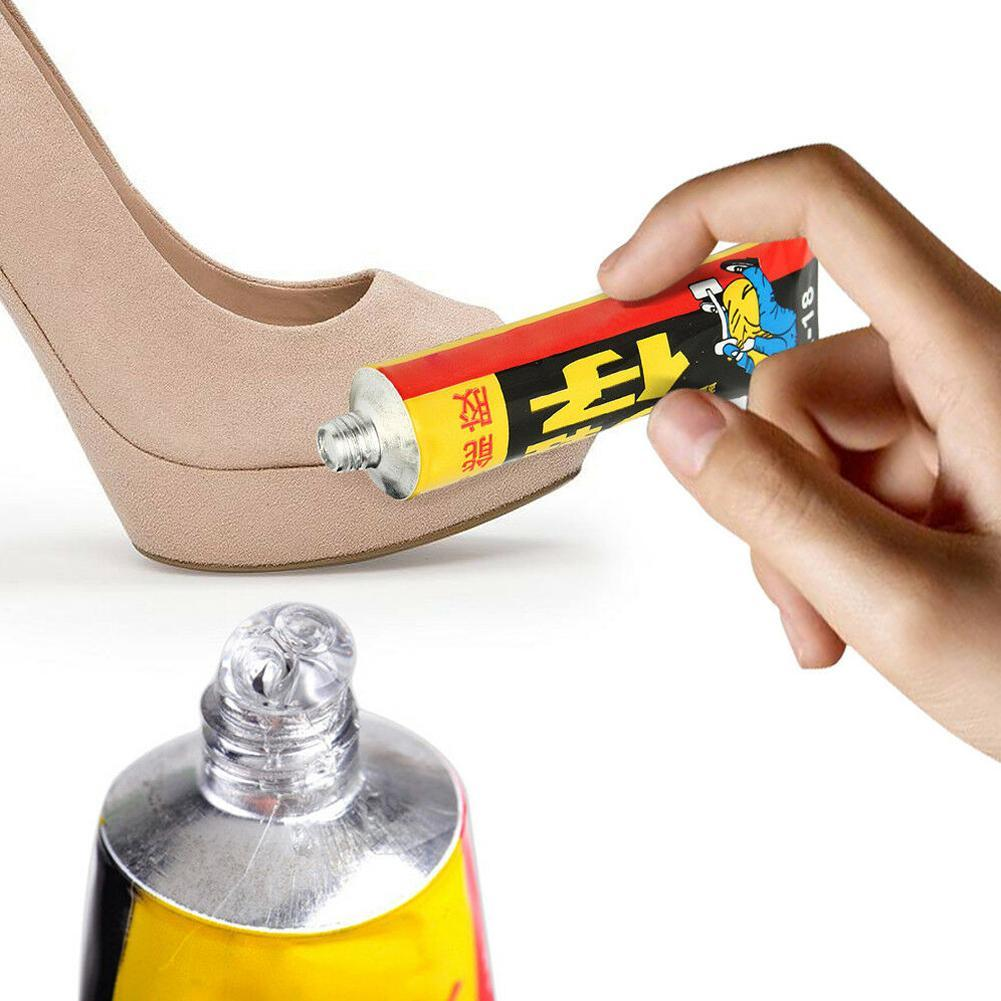 18ml Super Adhesive Repair Glue For Shoe Leather Rubber Canvas Tube Strong Bond Shoes Repair Glue(China)
