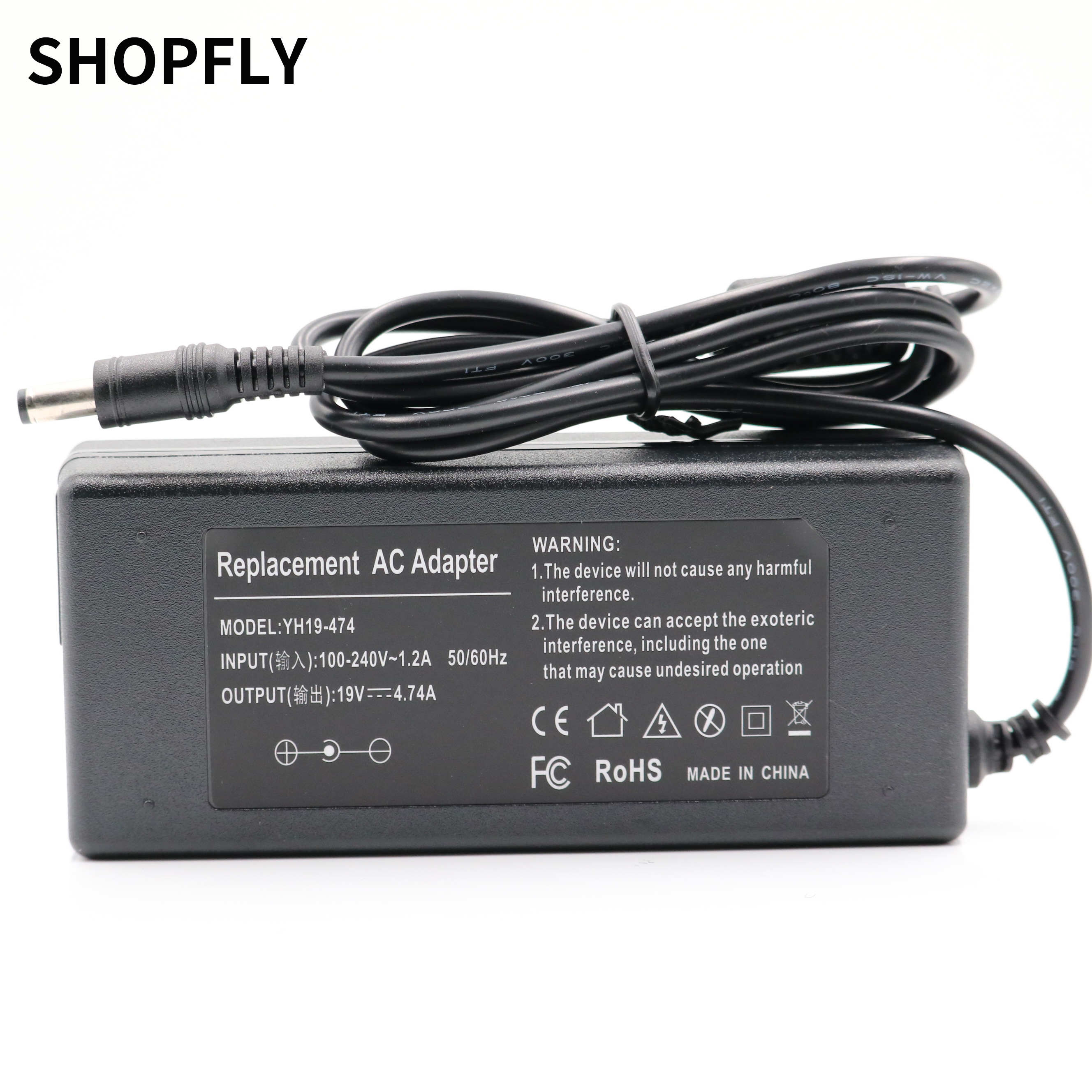 ASUS 5.5*2.5mm AC Laptop Power Adapter Travel Charger For Asus 19V 4.74A 90W ADP-90YD NoteBook 19V4.74A