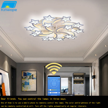 Modern Remote Control Led Ceiling Lamp Home Creative Personality Simple Atmosphere Master Bedroom Lamp Nordic Lamps creative living room lamp simple modern atmosphere nordic postmodern personality led pendant lamp bedroom lamp home lamp