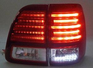 eOsuns Led rear bumper light brake lights turn signals tail lamp assembly for Toyota LC100 FZJ100 UZJ100 4500 4700 1998-2007