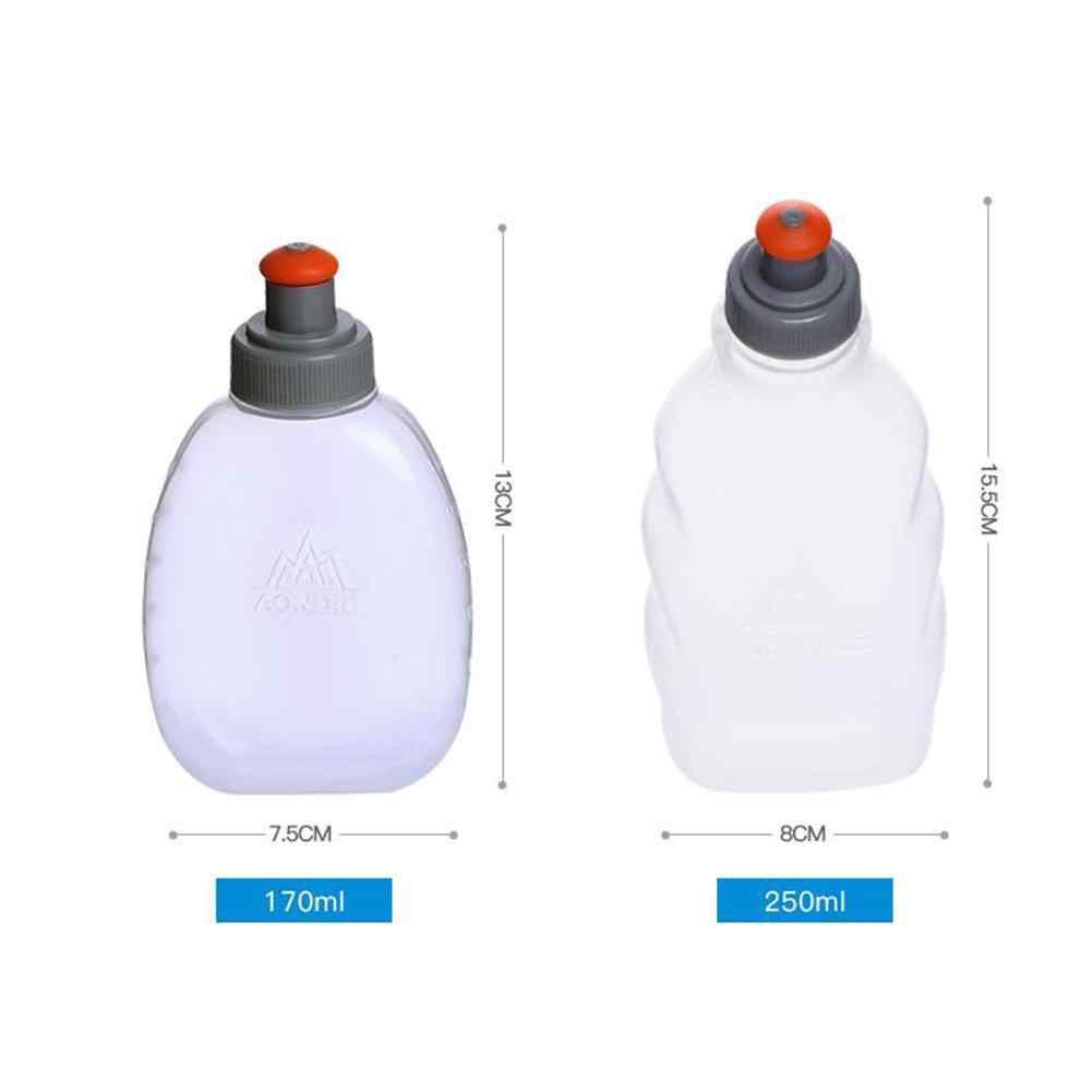 Himiss 250Ml/170Ml Water Fles Zachte Tas Outdoor Sport Opvouwbare Fles Draagbare Vouwen Running Cup Sport Fles