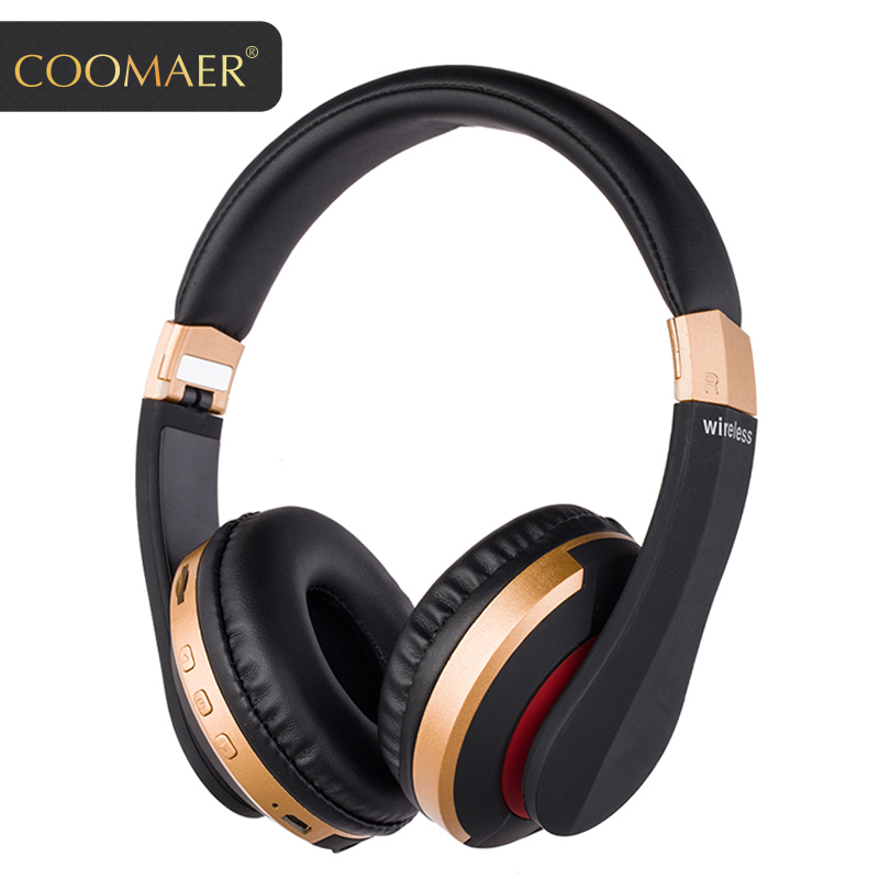 Multifunctional Wireless Bluetooth headphone Handsfree headset Support TF card HD Microphone headphones 3D Stereo headphones