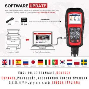 Image 4 - Autel MaxiTPMS TS601 Tire repair tools Car Diagnostic Scanner OBDII Code Reader Activate Programming Mx sensor Free Update