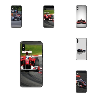 Black Soft TPU Screen Protector Formula 1 Cars Vehicles Launch For Xiaomi Redmi 3S 4X 4A 5 5A 6 6A 7 7A 8 8A 8T 9 9A K20 K30 S2 image