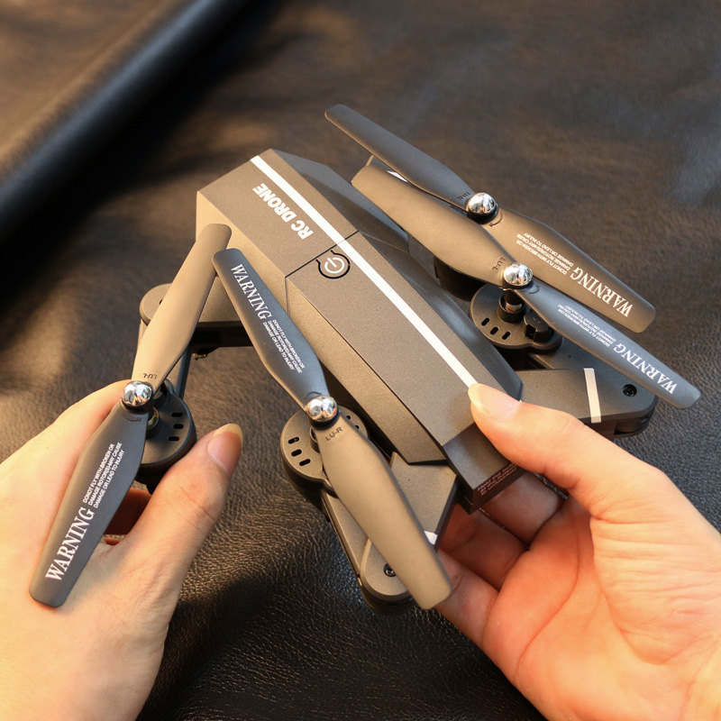Ultra-Long Airplane Unmanned Aerial Vehicle Aerial Photography High-definition Helicopter Folding Quadcopter Remote Control Batt