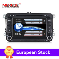 Germany warehouse!rns510 2 DIN Car DVD player For VW Passat POLO GOLF Tiguan CC Skoda Fabia Rapid Yet Seat Leon+16g map