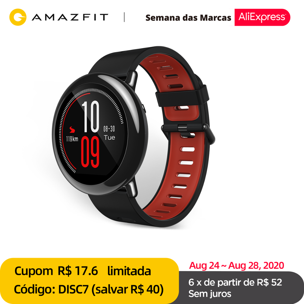 Original Amazfit Pace Smartwatch Amazfit Smart Watch Bluetooth GPS Information Push Heart Rate Intelligent Monitor 1
