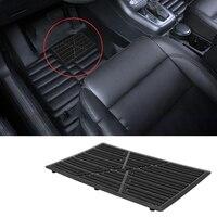 Acessórios do carro esteira do pé do calcanhar capa de pedal preto pvc tapete de carro universal almofada de assoalho do carro 25x16cm anti skid pedal|Pedais|Automóveis e motos -