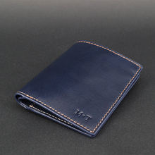 Luxury RFID slim vegetable tanned Leather Coin Bag for Men Invisible SD Card Slot Sleeve Note Purse Bellroy Short Wallet