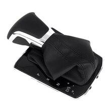 5NG713203 nuevo negro de cambio de engranaje de mando palanca de la perilla del interruptor para VW DSG Tiguan 5N L 2017 de 2018 de 2019 5NG 713 B 203