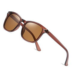 AOFLY Female Sunglasses Polarized Fashion BRAND DESIGN TR90 Flexible Frame Square Sun Glasses Male shades zonnebril heren UV400