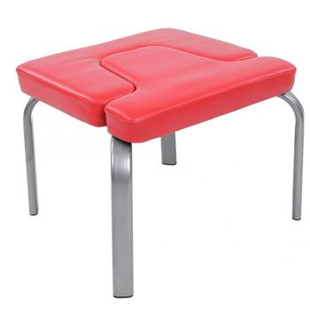 US 44x43x36.5cm Yoga Chair Headstand Stool Ultralight Yoga Chair Inversion Bench Headstander Fitness Kit Red
