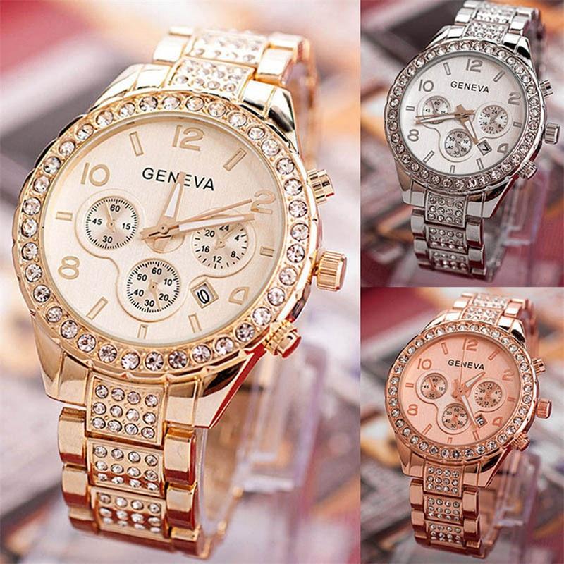 2020 Fashion Women Watch With Diamond Gold Watch Ladies Top Luxury Brand Ladies Casual Women's Bracelet Watches Relogio Feminino
