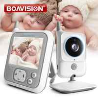 VB607 Video Baby Monitor 2.4G Wireless 3.2 Inches LCD Two Way Audio Talk Night Vision Surveillance Security Camera Babysitter