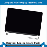New Complete A1398 Display Assembly for Macbook Pro Retina 15 inch LCD Screen Full Display Panel 2015