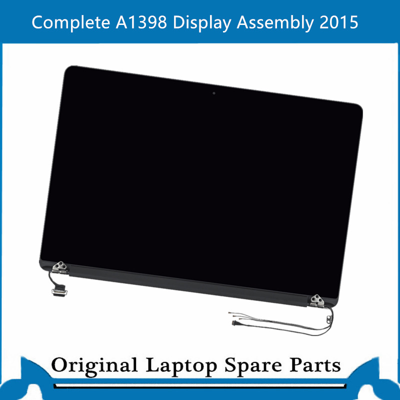 New Complete A1398 Display Assembly for Macbook Pro Retina 15 inch LCD Screen Full Display Panel 2015 image