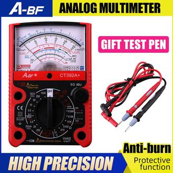 A-BF Pointer Type Multimeter Protective Function Analog Multimeter High Precision Electrician Mechanical Multimeter Anti-burning