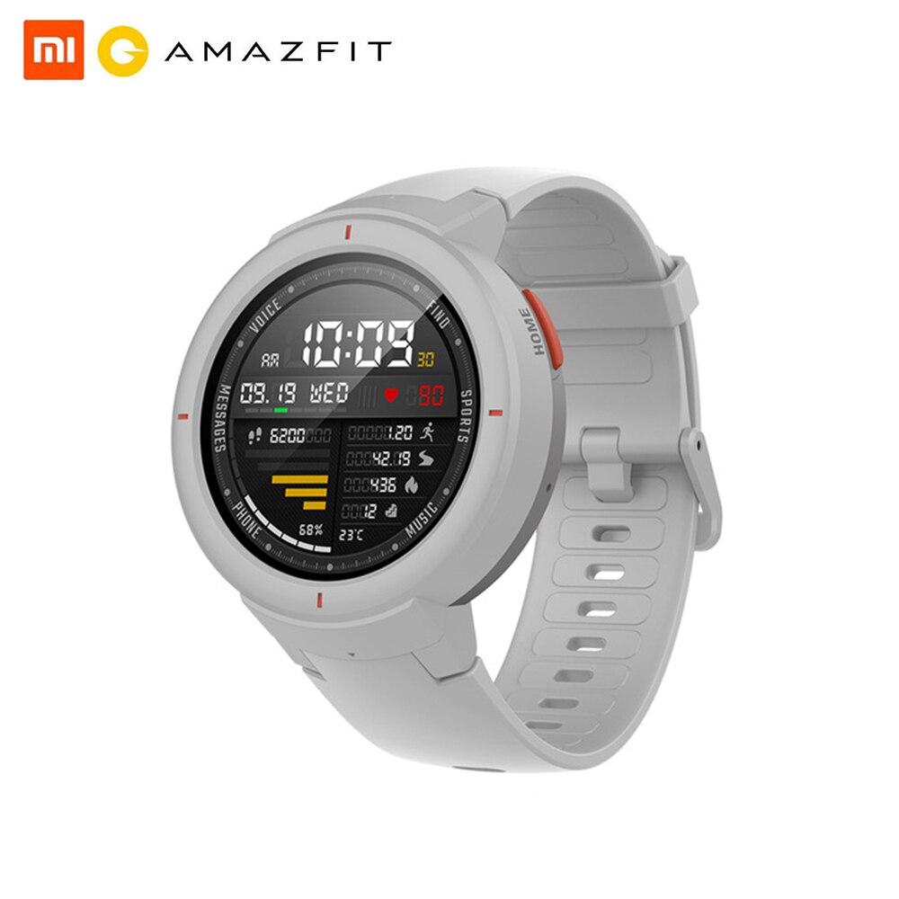 Huami amazfit verge inglês versão smartwatch 1.3 polegadas amoled tela dial & atender chamadas atualizado hr sensor gps relógio inteligente