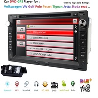 7 Touch Screen Car DVD Player GPS Navigation For Volkswagen T5 MULTIVAN SHARAN JETTA IBIZA 6L LEON 1M CORDOBA 6L LUPO SUPERB S