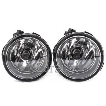 цена на FogLights For Nissan X-Trail Tiida Note Murano Patrol 3 Rogue Versa 2004-2015 Halogen Fog light headlight headlights foglight