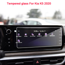 9H закаленное стекло ЖК-экран Защитная пленка наклейка для Kia K5 2020 автомобильный навигатор