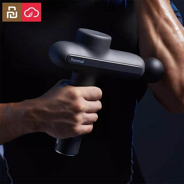 Youpin Yunmai Pro di Base del Muscolo del Massager Pistola 60W Potente 2600mAh Profondo Del Tessuto Massaggiatore Lavoro Run Terapia Dolore Muscolare sollievo