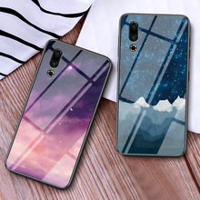 Starry Sky Tempered Glass Case For Meizu