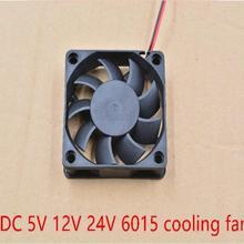 Fan Cooling-Fan 6015 60x60 3d-Printer DC 60mm X15-Mm 1PCS 6cm Graphics-Card 2P 2pins