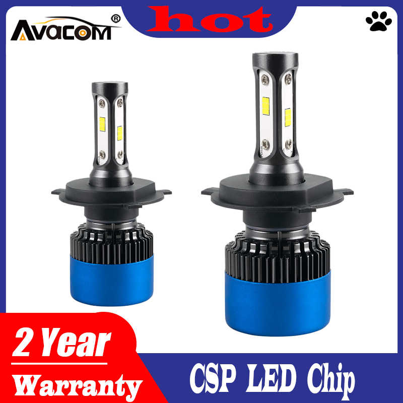 LED H7 H4 12000lm Car Headlights H1 H3 LED Auto Bulb H11 H8 9005 HB3 9006 HB4 HIR2 80W 6500K CSP LED Ampoule LED Voiture 12V 24V